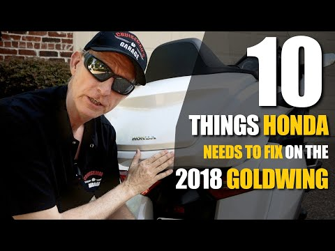 10 Things Honda Needs to Fix on the 2018 Honda Gold Wing