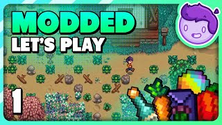Fresh Start - Staŗdew Valley Modded Let's Play [1]