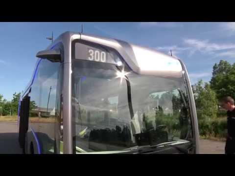 Mercedes-Benz Future Bus - Footage
