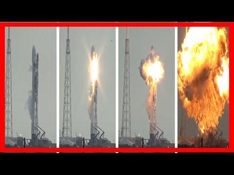 Breaking News   Explosive failures in rocket landing