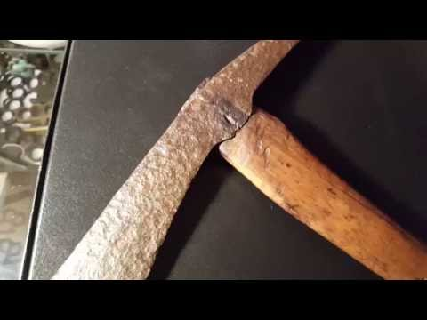 Spike Tomahawk 200 Year Old Rare Antique YARD SALE FIND