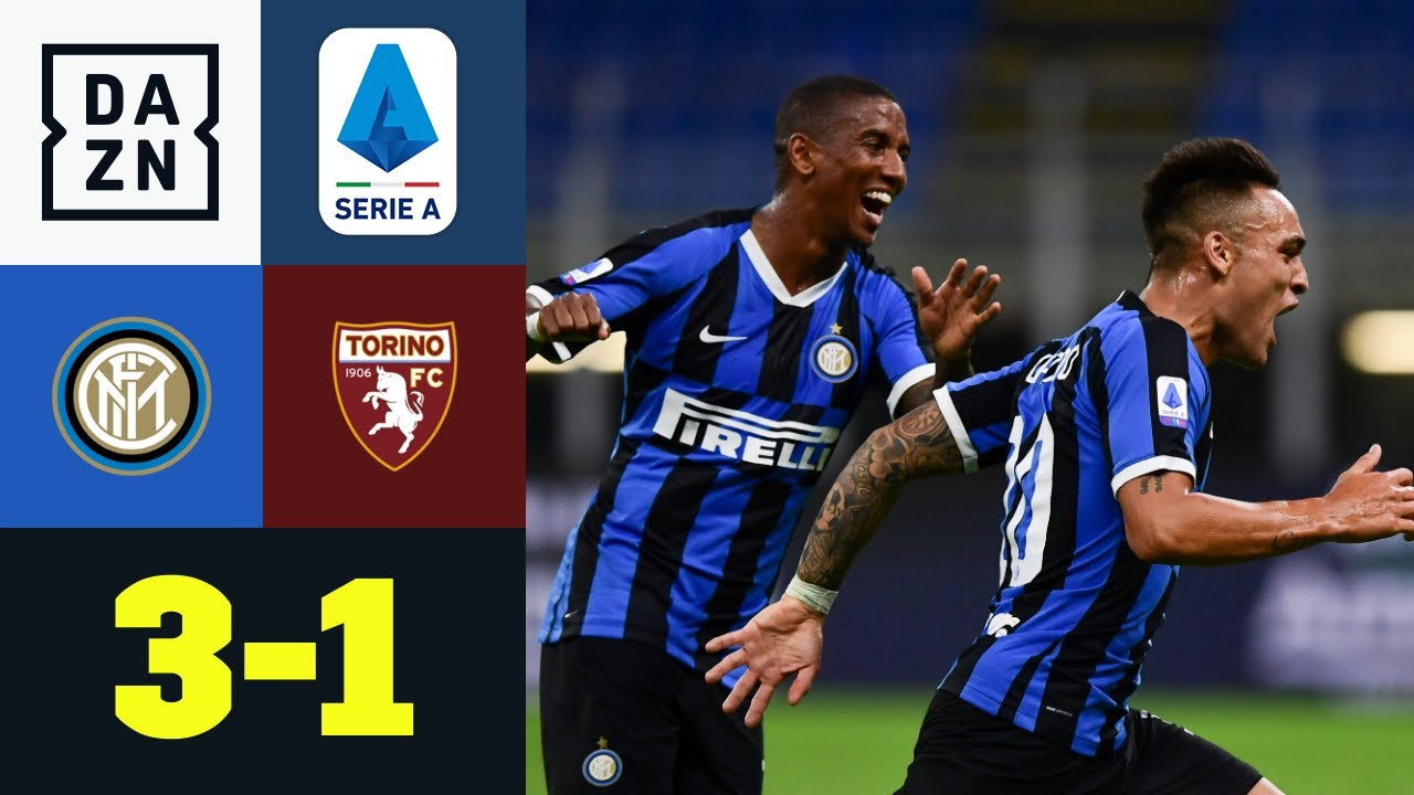 Inter überrollt Torino in der 2. Halbzeit: Inter Mailand - FC Turin 3:1 | Serie A | DAZN