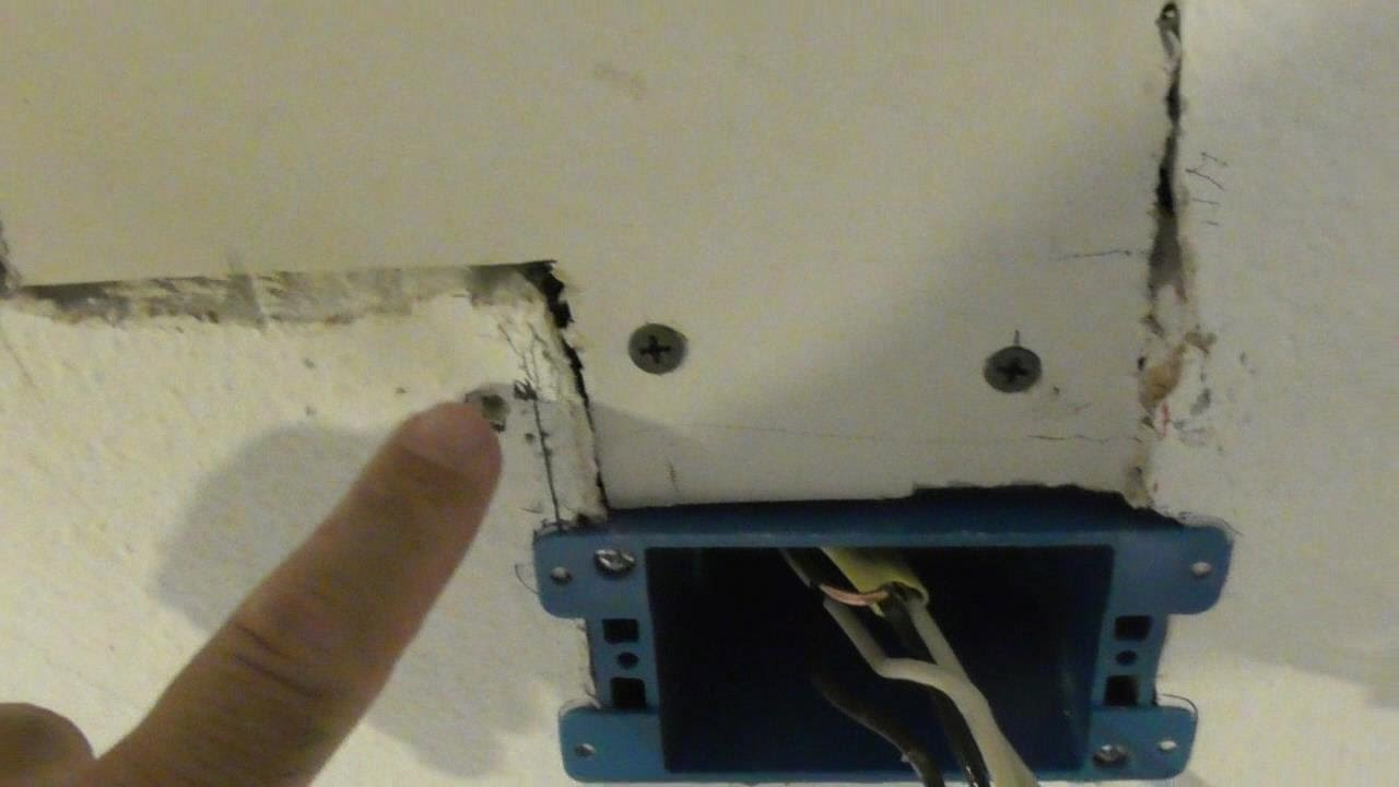How To Extend Wiring In Ceiling Or Wall For Light Fixture