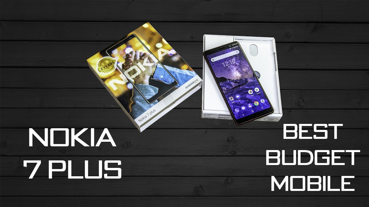 Nokia 7 Plus Unboxing | First Impressions