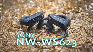Sony NW-WS623 waterproof headphones & mp3 player review
