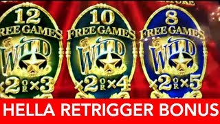 GOLD BONANZA HELLA RETRIGGER BONUS in Reno | NorCal Slot Guy