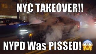 Video NYC Take Over | Took The SRT Durango | Epic Burnouts | Cops Were Pissed! download MP3, 3GP, MP4, WEBM, AVI, FLV November 2017
