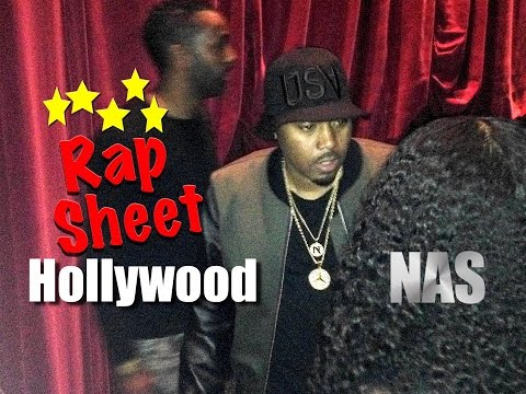 "NAS EXCLUSIVE on ""Shake the Dust"".  Rap Sheet Hollywood"