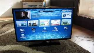 Samsung LED Smart TV EH5300 unboxing [HD]