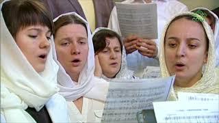 Божественная литургия в храме Девяти мучеников Кизических г Москвы 18 02 2018