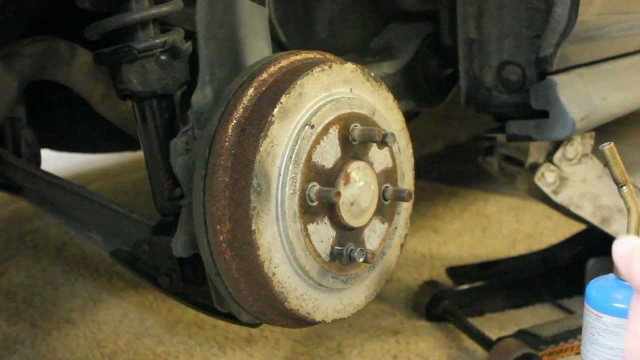 Honda Civic Drum Brakes Replacement Youtube