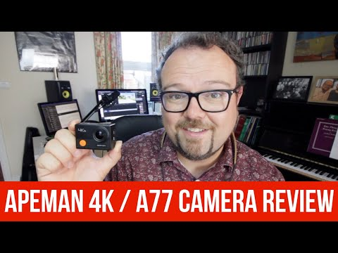 Apeman A77 / 4K Camera Review