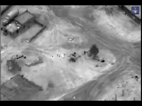 Видео гибели бойцов ЧВК 'Вагнер' в Сирии