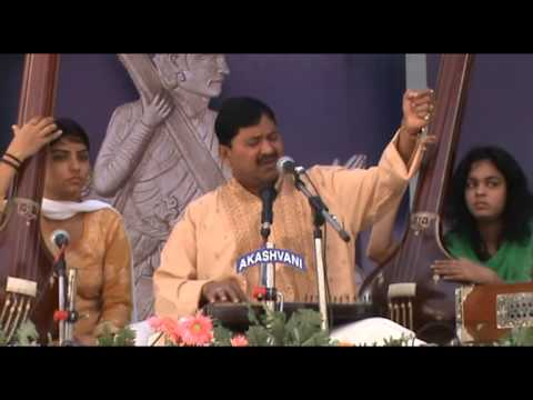 Sh. Umesh Kampoowale Performing At Tansen...