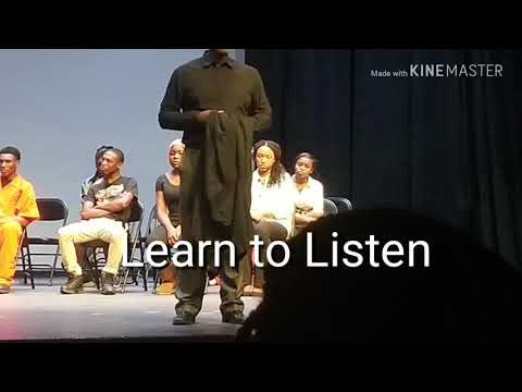 Voices  Stage Play  at Randallstown High School