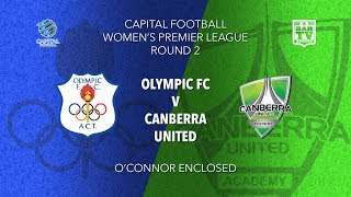 2019 Capital Football Women\'s - Round 2 - Canberra Olympic FC v Canberra United Academy