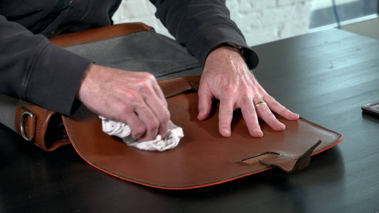 how to take care of leather wallet
