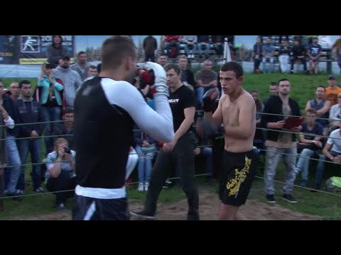 Тайский боксер против Уличного бойца ММА.