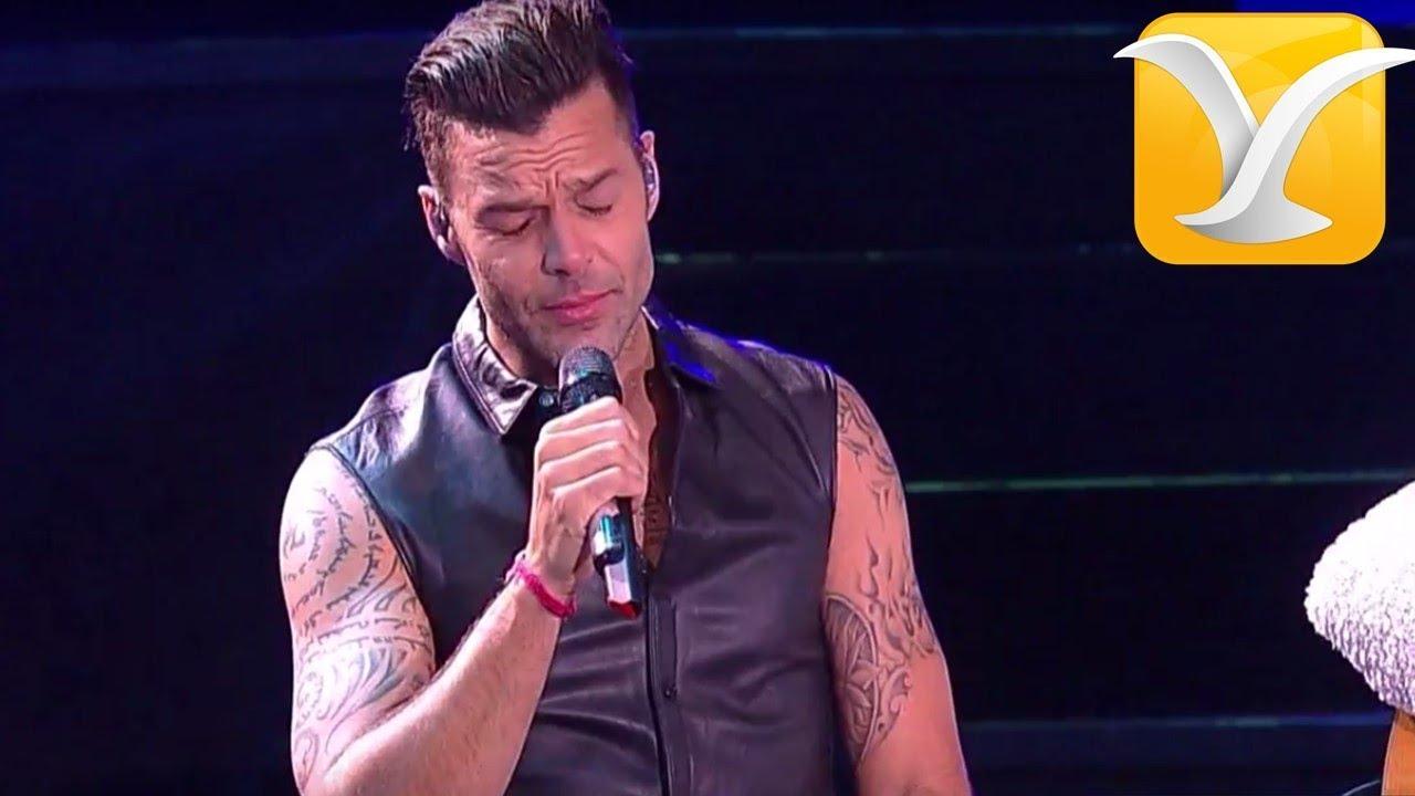 Ricky Martin - Eres el amor de mi vida/ Fuego contra fuego - Festival de Viña del Mar 2014 Full ...