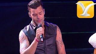 Ricky Martin -  Eres el amor de mi vida/ Fuego contra fuego - Festival de Viña del Mar 2014 Full HD