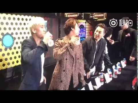 160320 - [GD] BIGBANG drink Vinegar - Fanmeeting in Nanjing and Hefei (China) #2