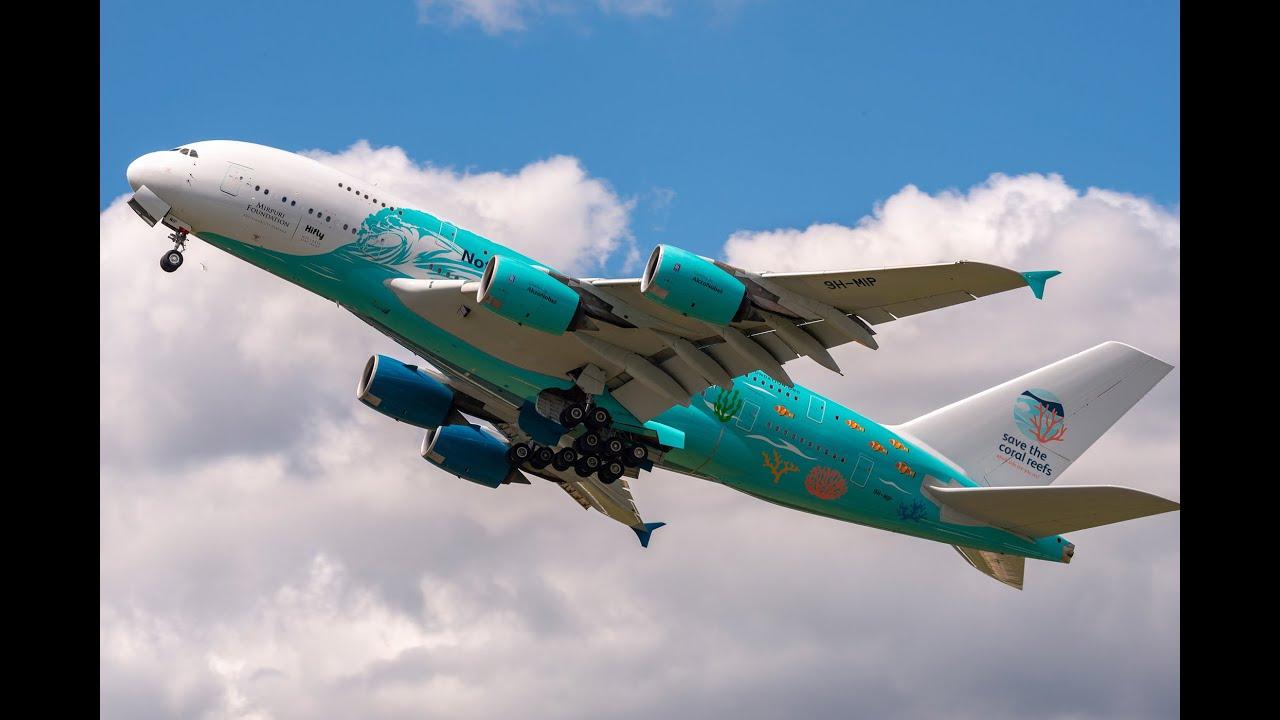 Hifly # A380 • Farewell
