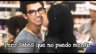 On the line - Demi Lovato (Feat. Jonas Brothers) Traducida al español