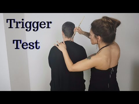 ASMR Trigger Test / Fest On Real Person