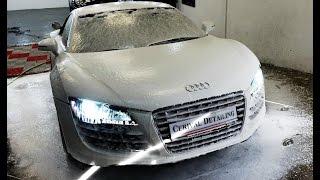 Audi R8 signature Swissvax Crystal Rock par Cerival Detailing Troyes