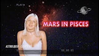 MARS IN PISCES - PASSION - RE/ACTION - SEX DRIVE - ANGER -RYTHM - WILLPOWER (ASTROLOGY SECRETS)