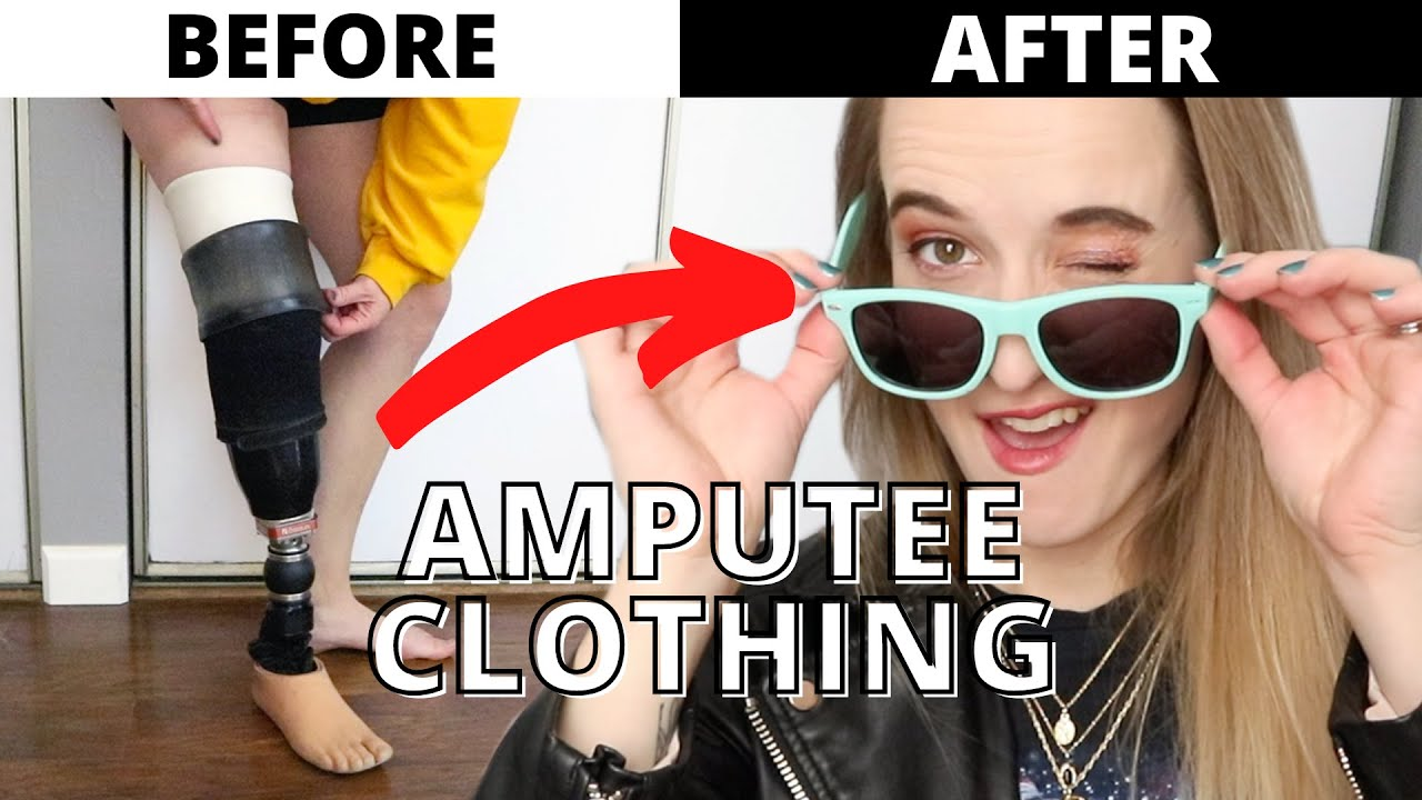 AMPUTEE CLOTHING: Challenges, & a Thrifting Adventure to Become a Fashion Icon... 😉