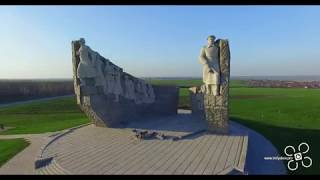 Мемориал Славы на Самбекских высотах [4K ULTRA HD] (DJI Phantom 3PRO)