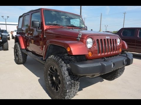 2007 jeep wrangler unlimited sahara soft top rough country lift youtube. Black Bedroom Furniture Sets. Home Design Ideas