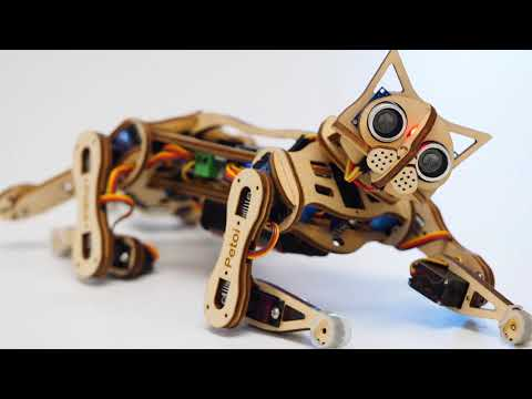 Nybble open source robotic kitten
