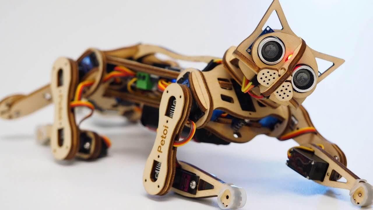 Say 'Hi' to Nybble, an open-source robotic kitten | TechCrunch