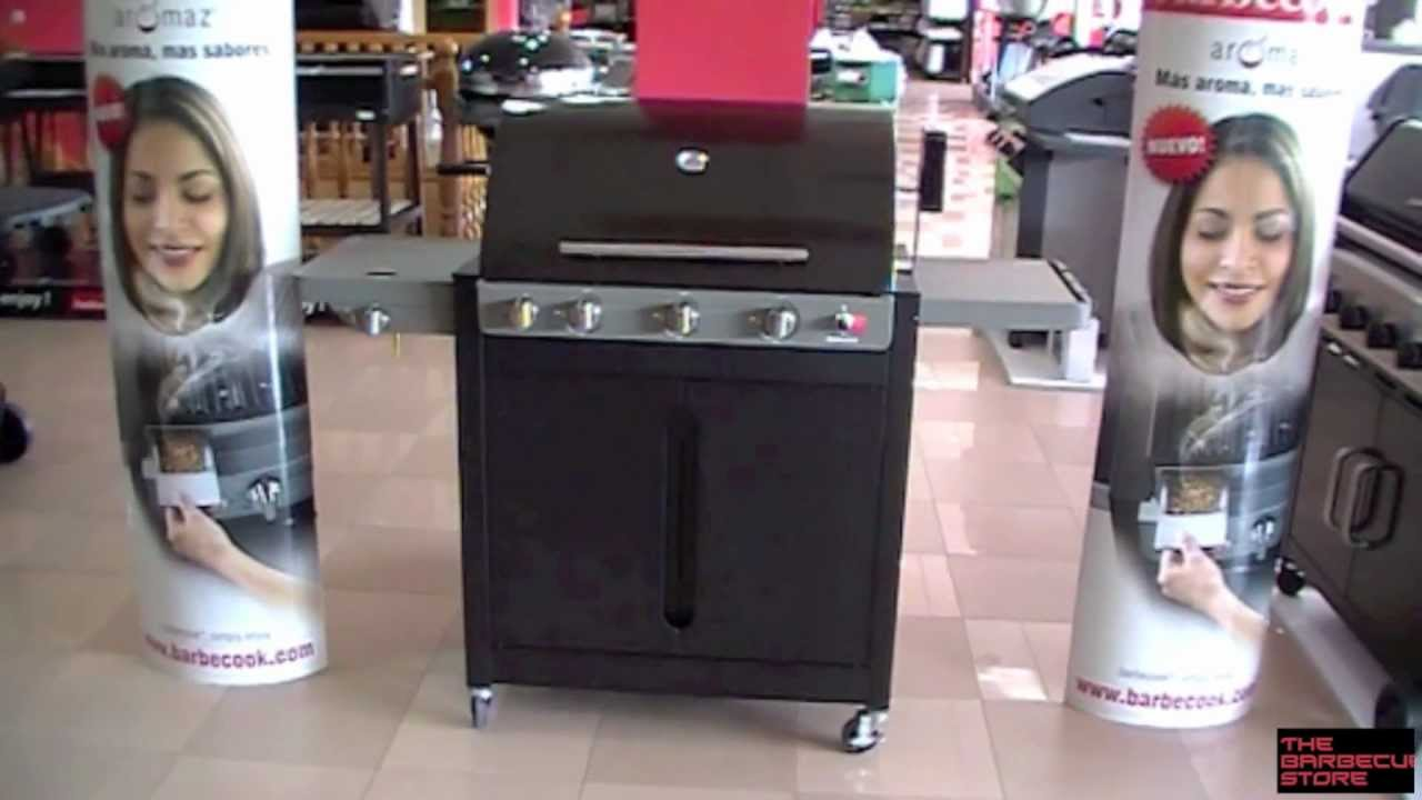barbacoa a gas barbecook brahma 5 2 ceram youtube. Black Bedroom Furniture Sets. Home Design Ideas