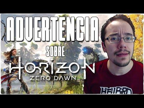 Advertencia sobre HORIZON ZERO DAWN