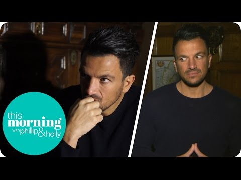 Peter Andre Goes Ghost Hunting at Muncaster Castle | This Morning