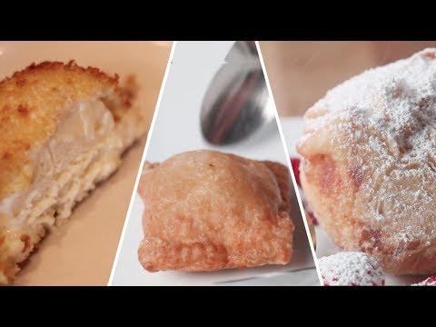 Fried Ice Cream 3 Ways Review- Buzzfeed Test #81