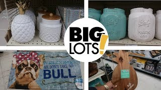 BIG LOTS SHOPPING * NEW HOME DECOR 2019 - COME WITH ME