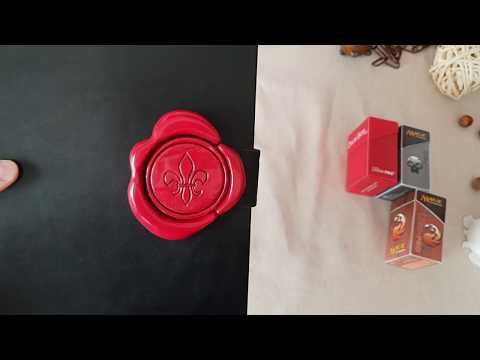 Custom grimoire style card deck box, for Magic The Gathering.