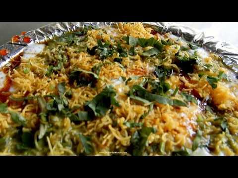 Delhi Chaat Making   Indian Street Food Making Videos