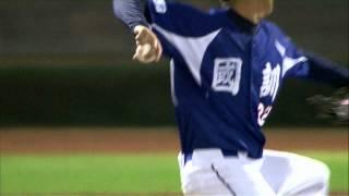 20140710-2 爆米花 國訓vs綺麗 7下 陳俊秀掃出中間方向強襲球 個人連五場有安打