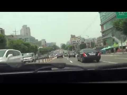 [Timelapse] Seoul - Yeosu Toll Free Route Drive Part 1: Seou