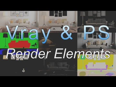 Vray Render Elements Photoshop