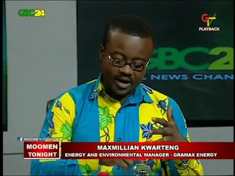 GTV - Moomen Tonight with Maxmillian Kwarteng (The Quest for Solar Energy & Energy Conservation  )