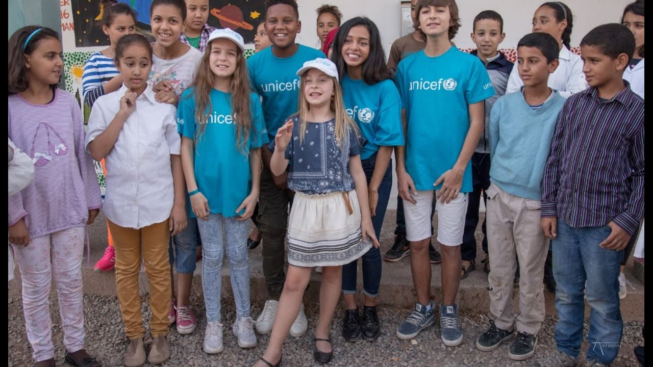les kids united avec les enfants du maroc pour l 39 unicef youtube. Black Bedroom Furniture Sets. Home Design Ideas