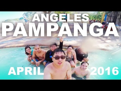 ANGELES PAMPANGA - F O N T A N A - GOPRO HD - April 2016