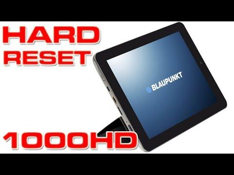 Hard reset Blaupunkt 1000HD | UHD | 4K