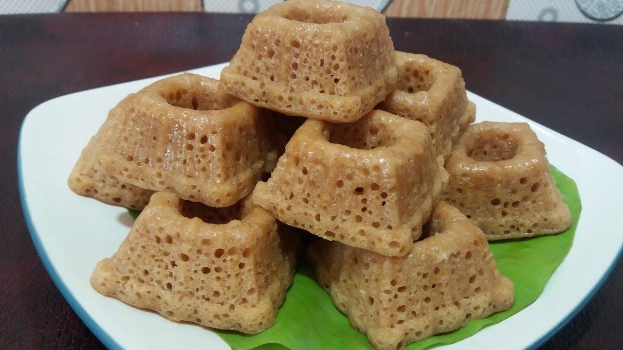Resep Kue Apem Gula Merah Lembut Bersarang